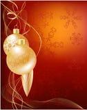 Χριστούγεννα μπιχλιμπιδιών απεικόνιση αποθεμάτων