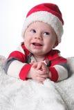 Χριστούγεννα μωρών ευτυχή Στοκ Φωτογραφία