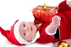 Χριστούγεννα μωρών λίγα Στοκ εικόνες με δικαίωμα ελεύθερης χρήσης