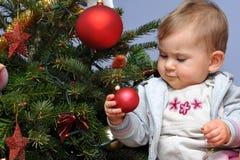 Χριστούγεννα μωρών λίγο δέν Στοκ φωτογραφία με δικαίωμα ελεύθερης χρήσης