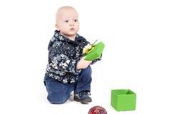 Χριστούγεννα μωρών Στοκ εικόνα με δικαίωμα ελεύθερης χρήσης