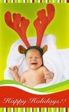 Χριστούγεννα μωρών Στοκ Φωτογραφίες