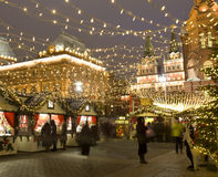 Χριστούγεννα Μόσχα Στοκ Φωτογραφίες