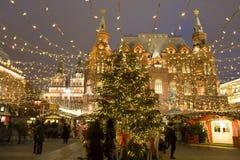 Χριστούγεννα Μόσχα Στοκ εικόνες με δικαίωμα ελεύθερης χρήσης