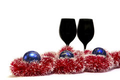 Χριστούγεννα/νέα διακόσμηση έτους Στοκ εικόνες με δικαίωμα ελεύθερης χρήσης