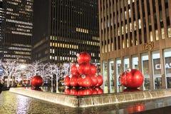 Χριστούγεννα Νέα Υόρκη Στοκ Φωτογραφία