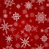 Χριστούγεννα, νέο άνευ ραφής πρότυπο έτους Στοκ Φωτογραφία