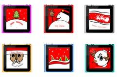 Χριστούγεννα νανο διανυσματική απεικόνιση