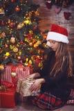 Χριστούγεννα νεράιδων Στοκ εικόνες με δικαίωμα ελεύθερης χρήσης