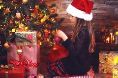 Χριστούγεννα νεράιδων Στοκ Εικόνες