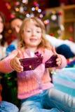 Χριστούγεννα οικογενε Στοκ εικόνες με δικαίωμα ελεύθερης χρήσης