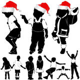 Χριστούγεννα παιδιών διανυσματική απεικόνιση