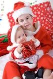 Χριστούγεννα πορτρέτων Στοκ εικόνα με δικαίωμα ελεύθερης χρήσης