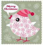 Χριστούγεννα πουλιών ελεύθερη απεικόνιση δικαιώματος
