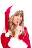 Χριστούγεννα που κάνουν sh Στοκ εικόνες με δικαίωμα ελεύθερης χρήσης