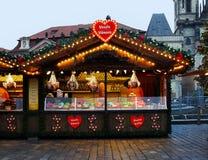 Χριστούγεννα Πράγα στοκ φωτογραφία
