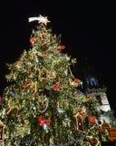 Χριστούγεννα Πράγα Στοκ εικόνα με δικαίωμα ελεύθερης χρήσης