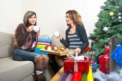 Χριστούγεννα προγευμάτω Στοκ Εικόνες
