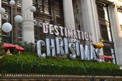 Χριστούγεννα προορισμού Στοκ φωτογραφίες με δικαίωμα ελεύθερης χρήσης