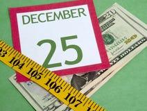 Χριστούγεννα προϋπολογ&iot Στοκ εικόνα με δικαίωμα ελεύθερης χρήσης