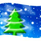 Χριστούγεννα πρόσκλησης &k Στοκ Φωτογραφία