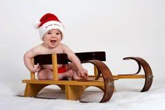 Χριστούγεννα πρώτα μου Στοκ Φωτογραφία