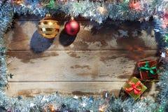 Χριστούγεννα πλαισίων Στοκ Φωτογραφία
