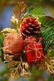 Χριστούγεννα ρύθμισης Στοκ φωτογραφία με δικαίωμα ελεύθερης χρήσης
