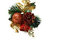 Χριστούγεννα ρύθμισης Στοκ Φωτογραφία