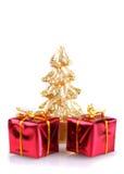 Χριστούγεννα ρύθμισης Στοκ Εικόνες