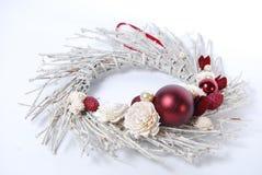 Χριστούγεννα ρύθμισης floral Στοκ φωτογραφία με δικαίωμα ελεύθερης χρήσης