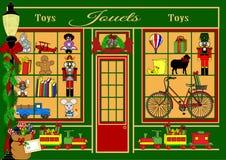 Χριστούγεννα σε Jouets απεικόνιση αποθεμάτων