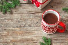 Χριστούγεννα σοκολάτας στοκ εικόνα
