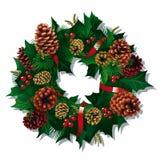 Χριστούγεννα στεφανιών Στοκ Φωτογραφία