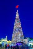 Χριστούγεννα 2016 στην πλατεία της Mary ` s καλά, Ναζαρέτ Στοκ φωτογραφίες με δικαίωμα ελεύθερης χρήσης