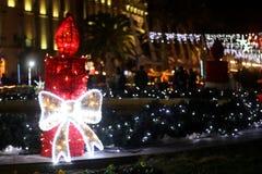 Χριστούγεννα στη διάσπαση, Κροατία στοκ φωτογραφία με δικαίωμα ελεύθερης χρήσης
