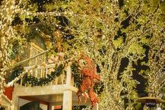 Χριστούγεννα στη λεωφόρο αγορών, Glendale Galleria Στοκ φωτογραφία με δικαίωμα ελεύθερης χρήσης