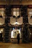 Χριστούγεννα στη Λισσαβώνα Στοκ Φωτογραφίες