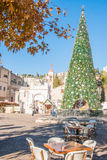Χριστούγεννα στη Ναζαρέτ Στοκ εικόνα με δικαίωμα ελεύθερης χρήσης