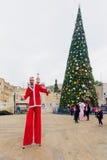 Χριστούγεννα στη Ναζαρέτ Στοκ φωτογραφίες με δικαίωμα ελεύθερης χρήσης