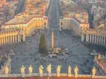 Χριστούγεννα στη Ρώμη Στοκ Εικόνα