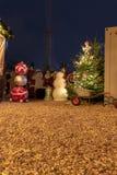 Χριστούγεννα στο εργοτάξιο οικοδομής στοκ εικόνες