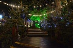 Χριστούγεννα στο κέντρο Southbank Στοκ φωτογραφίες με δικαίωμα ελεύθερης χρήσης