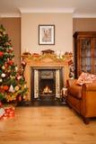 Χριστούγεννα στο σπίτι Στοκ Φωτογραφία