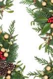 Χριστούγεννα συνόρων δια&k Στοκ εικόνες με δικαίωμα ελεύθερης χρήσης