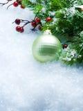Χριστούγεννα συνόρων Στοκ Εικόνες