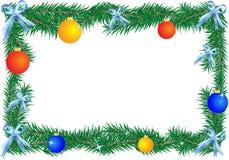 Χριστούγεννα συνόρων Διανυσματική απεικόνιση
