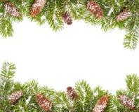 Χριστούγεννα συνόρων Στοκ φωτογραφία με δικαίωμα ελεύθερης χρήσης