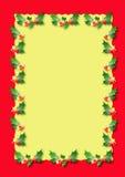 Χριστούγεννα συνόρων Στοκ Εικόνα