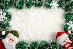 Χριστούγεννα συνόρων Στοκ εικόνα με δικαίωμα ελεύθερης χρήσης